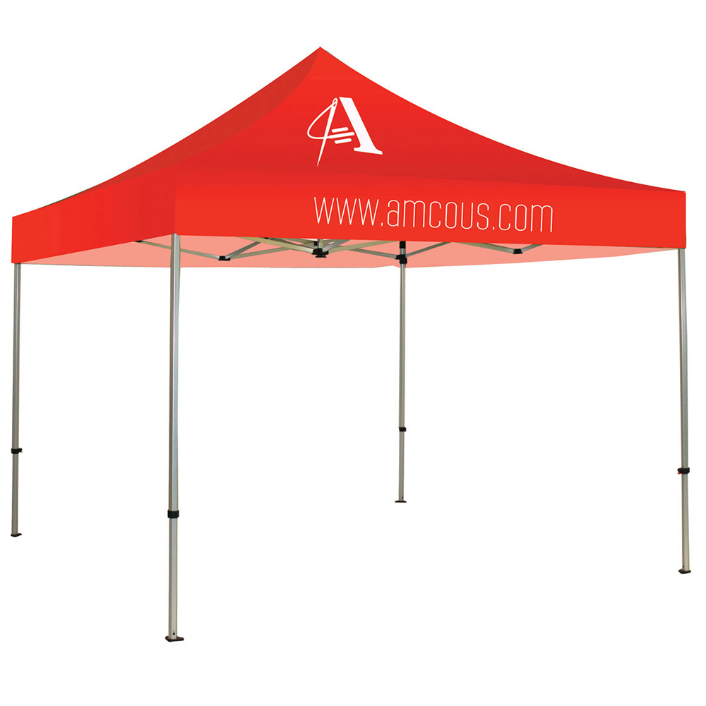 Casita Canopy Aluminum Tent 10 ft. Stock Red 1 Color Logo Package (Hardware u0026 Print)  sc 1 st  WS Display & Casita Canopy Aluminum Tent 10 ft. Stock Red 1 Color Logo Package ...