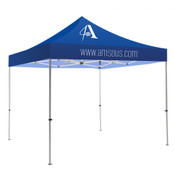 Blue Tent 1 Color Logo Package