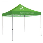 Green Tent 1 Color Logo Package