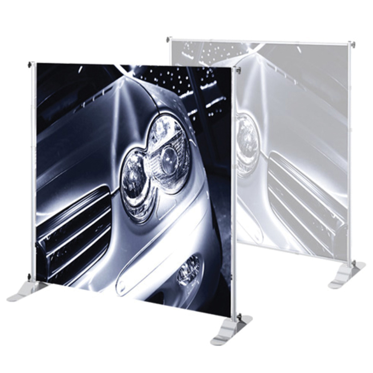 Stand /& Graphic Personalized Jumbo Banner Black Large Tube 5x5 Graphic Package