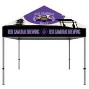 ONE CHOICE® 10 Ft. Aluminum Canopy Tent Dye-Sub Graphic Package (White Trim)