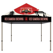 ONE CHOICE® 10 Ft. Steel Canopy Tent Dye-Sub Graphic Package