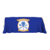 ONE CHOICE ® Table Throw Full Color 6 Ft. 4-Sided