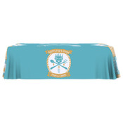 ONE CHOICE ® Table Throw Full Color 8 Ft. 4-Sided