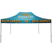 One Choice ® 15 Ft. Casita Canopy Tent Full-Color Dye Sub Print Graphic Package