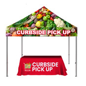 ONE CHOICE ® Kit 3: 10ft. Casita Canopy Tent & 6ft Table Throw