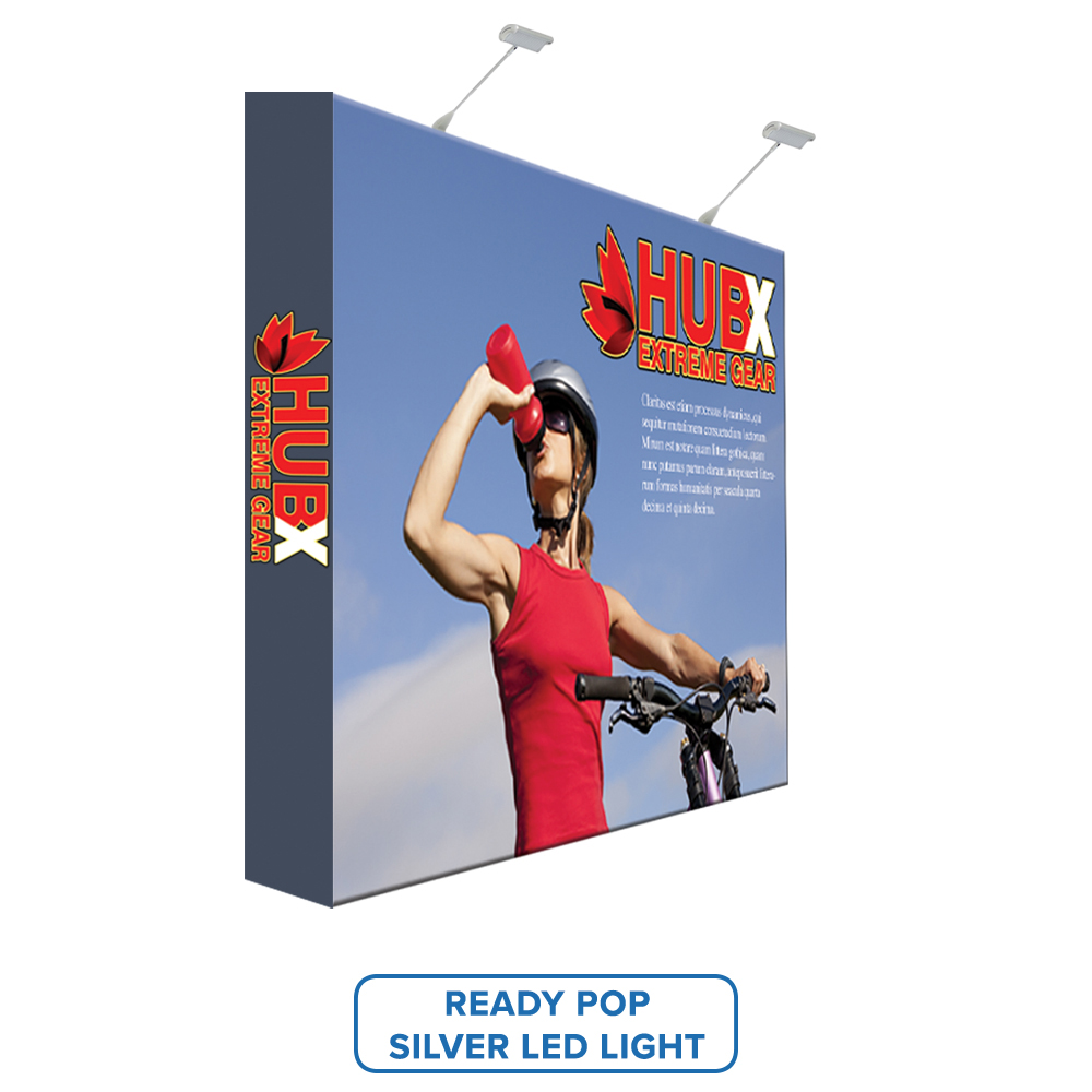 Personalized VAIL 100D 6 x 9 Single-Sided Graphic Package Edge Lit