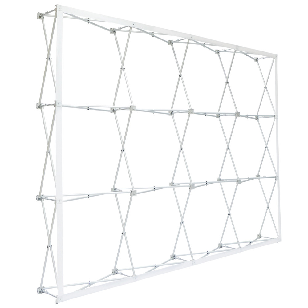 10 Ft Rpl Fabric Pop Up Display Straight Frame Only