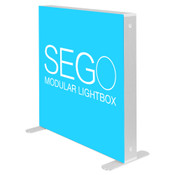 3.3 X 3.3ft. SEGO Modular Lightbox Display - Double-Sided Graphic Package