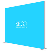 9.8 X 7.4ft. SEGO Lightbox Double-Sided Graphic Package