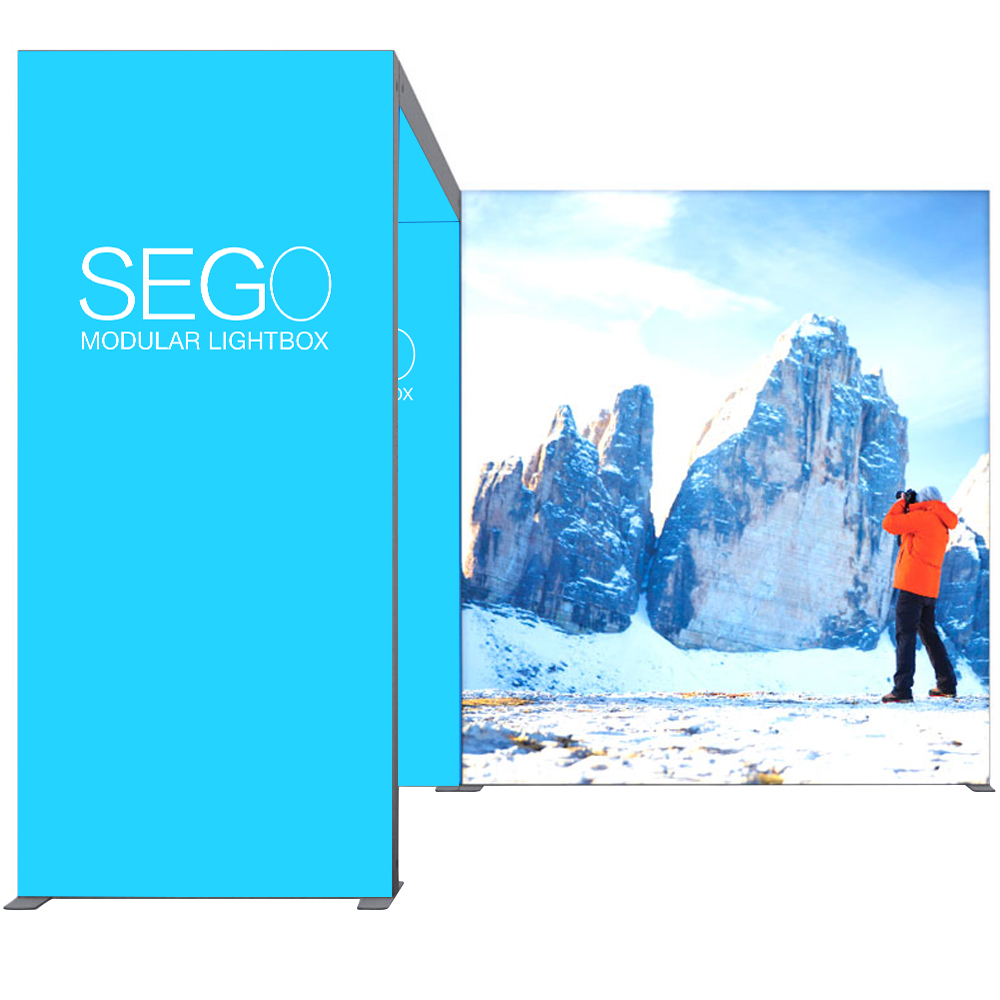 Personalized VAIL 100D 7 x 5 Double-Sided Graphic Package Edge Lit
