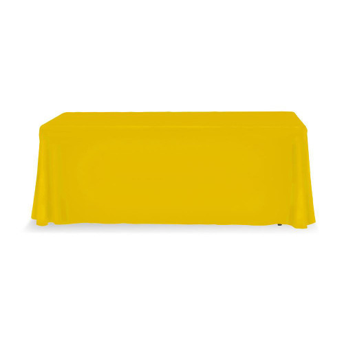 Yellow Table Throw 6ft 3-sided