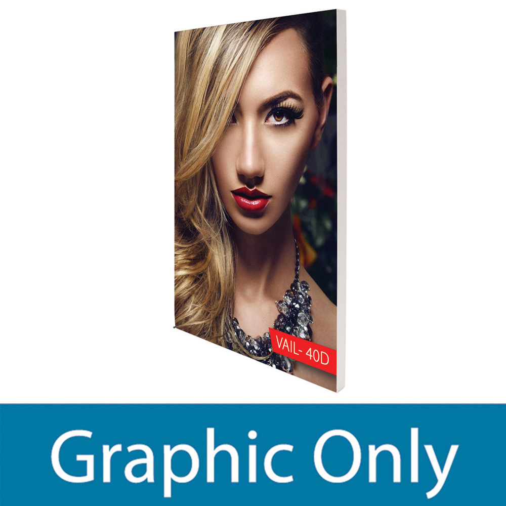 Personalized VAIL 60D 5 x 6 Double-Sided Graphic Package