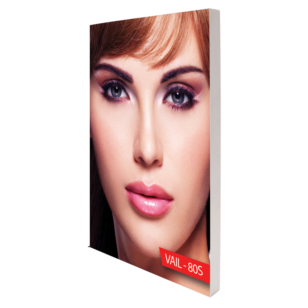 Personalized VAIL 100D 8 x 4 Single-Sided Graphic Package Edge Lit