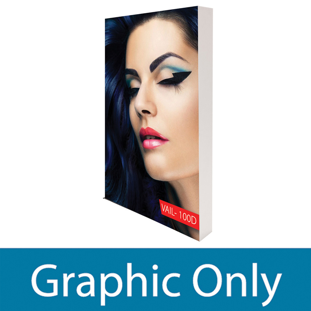 Personalized VAIL 40S 8 x 2 Single-Sided Graphic Package